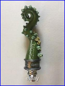 Wicked Weed PERNICIOUS Spider Beer Tap Handle & FREAK OF NATURE NEW IN BOXES