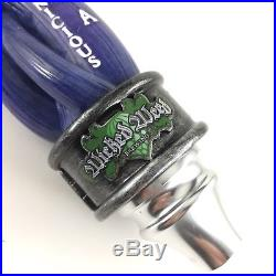 Wicked Weed Pernicious IPA Craft Beer Tap Handle Knob Spider Stalk Purple Hops