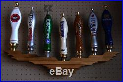 X2 Lot Of 2 Ea Beer Tap Handle Display Holds 7 Wall Mount American Eagle Design