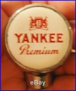 (vintage) Yankee Beer Ball Tap Knob / Handle Excellent Condition
